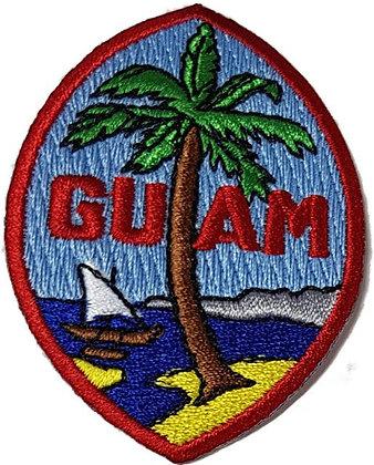 Guam Ball Cap Patch