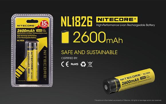 Nitecore NL1826 Battery