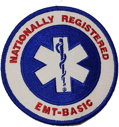 Nationally Registered EMT Shoulder Patch