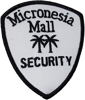 Micronesia Mall Security Shoulder Patch