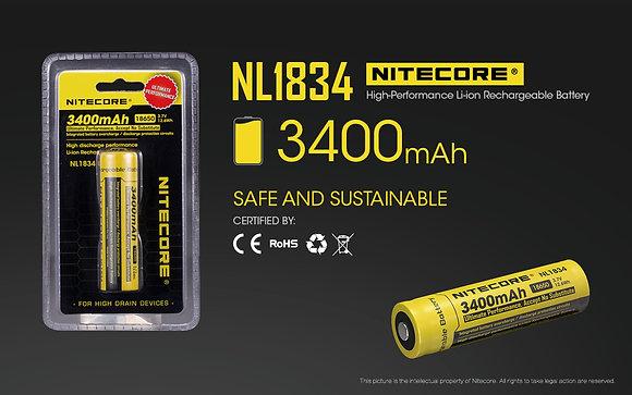 Nitecore NL1834 Battery