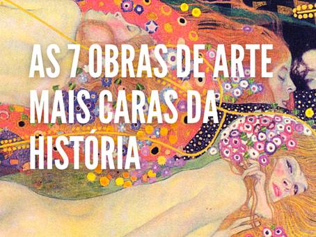 As 7 obras de arte mais caras da história