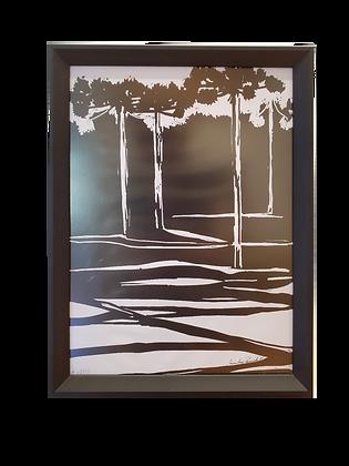 cópia de cópia de Araucária P&B- Desenho Digital