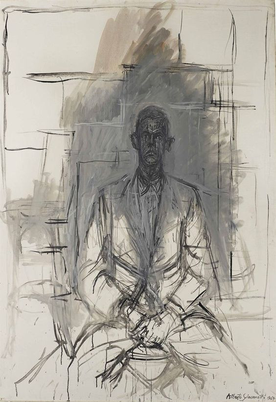"""Retrato de James Lord"" Alberto Giacometti (1964)"
