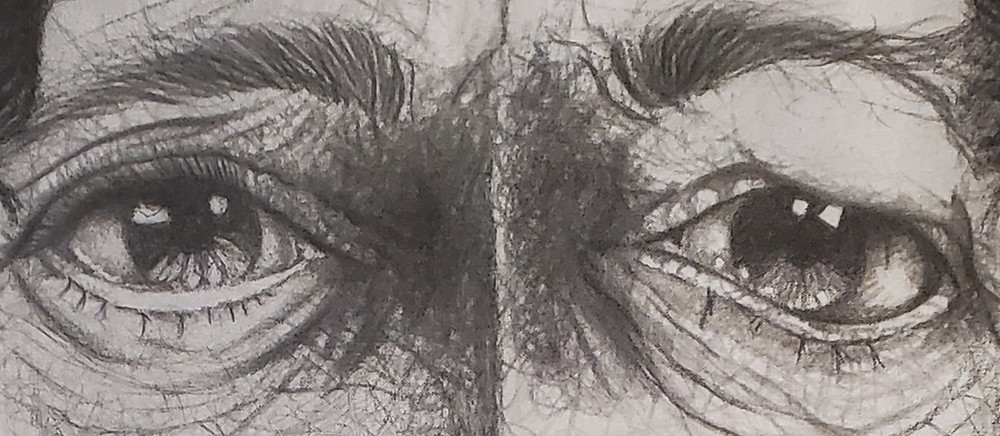 Victor Hugo Porto tela série olhares