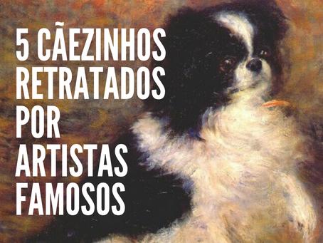 5 Cãezinhos retratados por artistas famosos