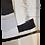 Thumbnail: Díptico Abstrato - Cinza Detalhes Dourados I