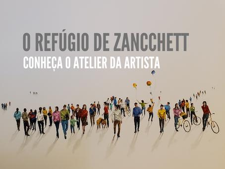O Refúgio de Zancchett: Conheça o Atelier da Artista