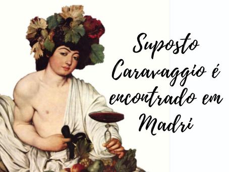 Supost tela de Caravaggio é encontrada em Madri