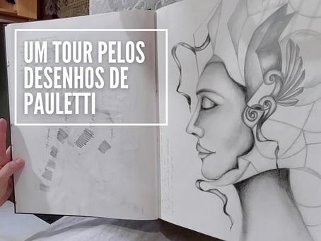 Um tour pelos desenhos de Pauletti