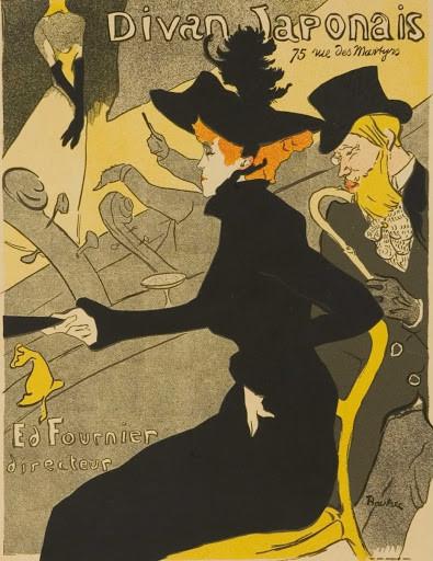 """""""O Divan Japonês"""" Toulouse-Lautrec (1893)"""