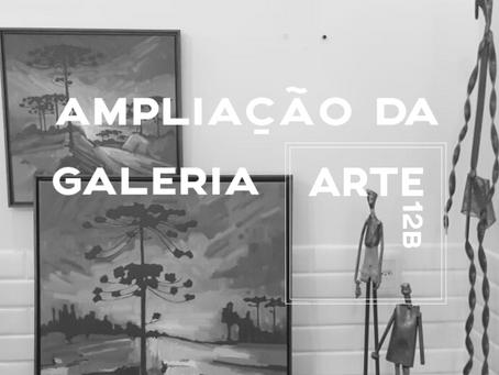 Ampliação da Galeria Arte12b