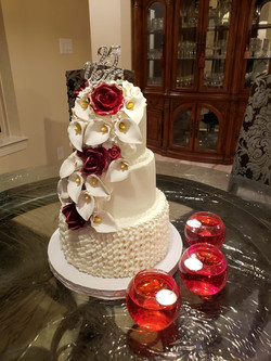 Jeffin 25th anniv cake