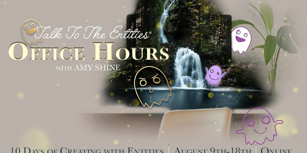 Office Hours for Entities Online with Amy Shine