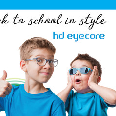 HD Eyecare Back to School Mailer