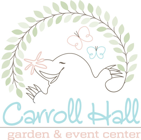 Carroll Hall Event Center Logo Design #2