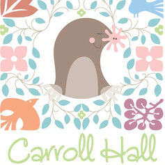 Carroll Hall Event Center Logo Design #1