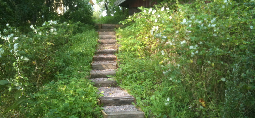 Sentier du studio de méditation