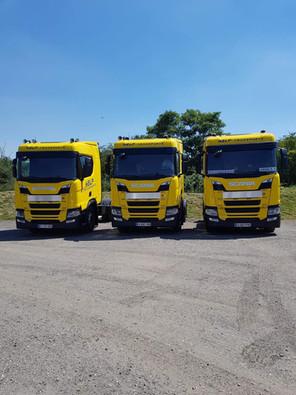 L'arrivée des nouveaux Scania !