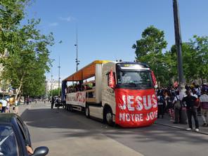 La Marche pour Jésus avec Help Transports
