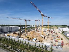 Transports Help est présent sur le chantier de Paris Saclay
