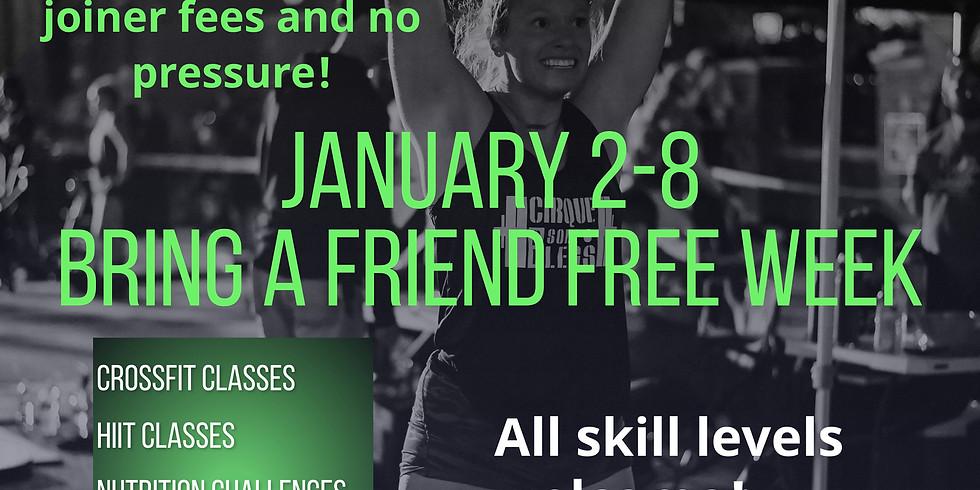 Bring a Friend for Free Week