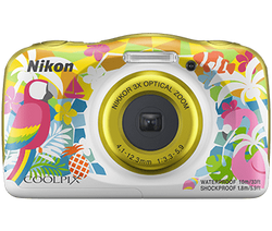 This is the image of Nikon Coolpix W150 camera.