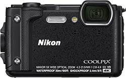 This is the image of NIKON W300 camera