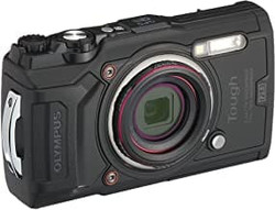This is the image of Olympus TG-6 Black camera
