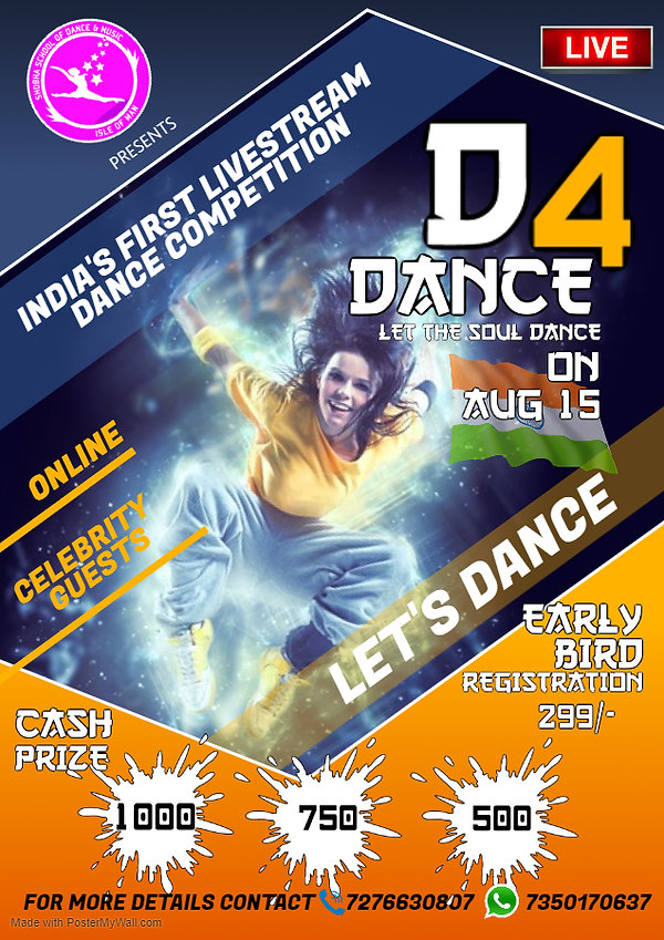 Copy of DANCE CLASSES POSTER - Made with