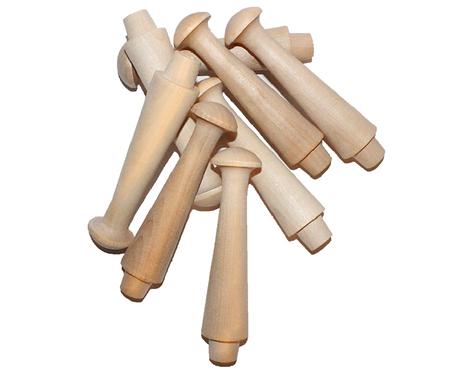 """Jumbo Shaker Pegs - 4-5/8"""" Length"""