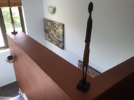 Blick ins Wohnzimmer Komusha haus
