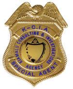 Kiamalu Investigations Badge