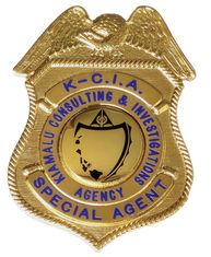 Kiamalu Badge