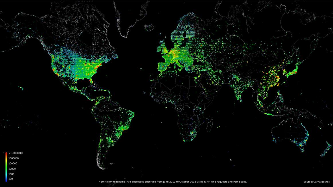 Worldwide Deployable Map of the World