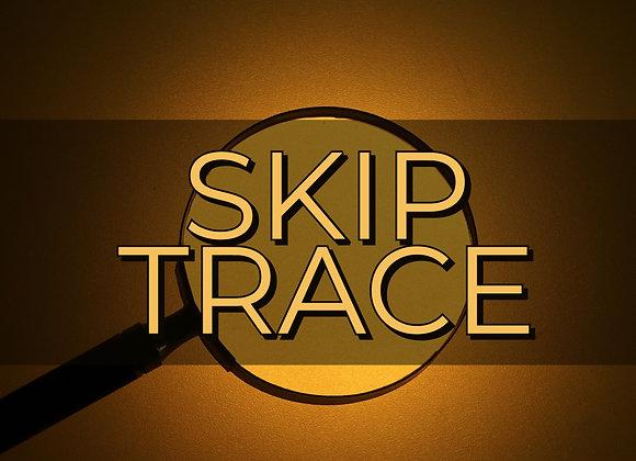 Skip Trace Report