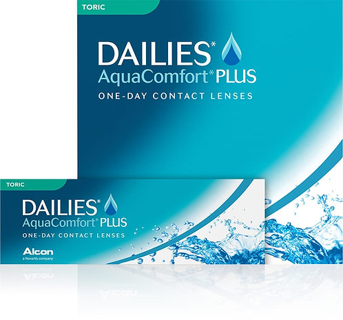 DAILIES  AQUACOMFORT PLUS TORIC - Diottrie negative da 0.00 a - 6.00: 30 PCS