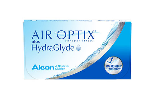 AIR OPTIX PLUS HYDRAGLYDE - Diottrie negative da - 6.00 a - 12.00