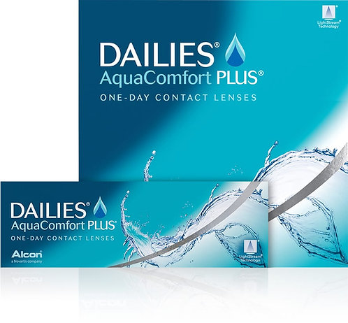 DAILIES  AQUACOMFORT PLUS - Diottrie negative da - 6.50 a - 15.00