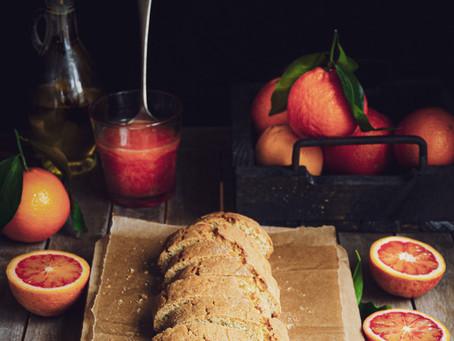 Biscotti da colazione al succo d'arancia e segale