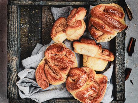 Cinnamon roll mini muffins  - Girelle al latte e alla cannella