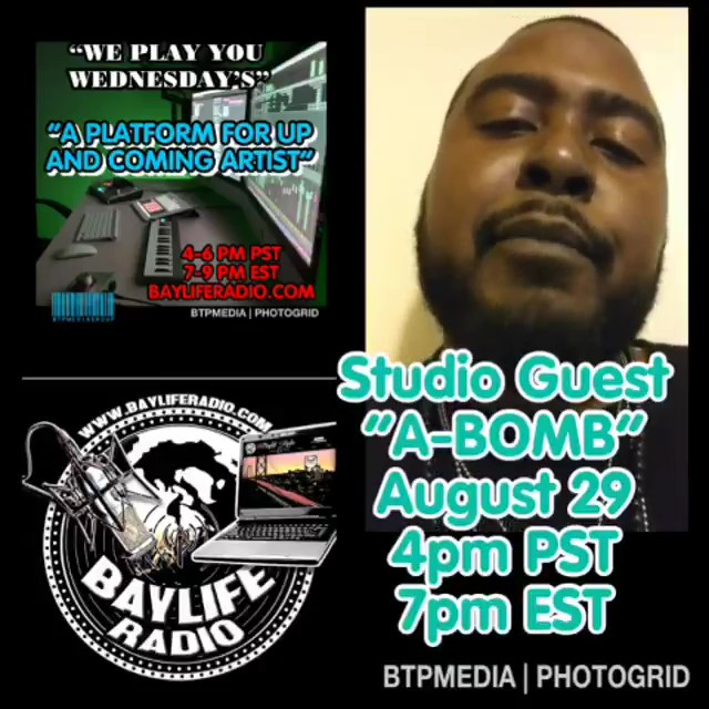 A-Bomb on Bay Life Radio