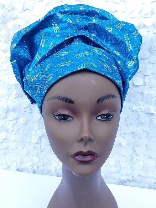 Blue Gele Hat