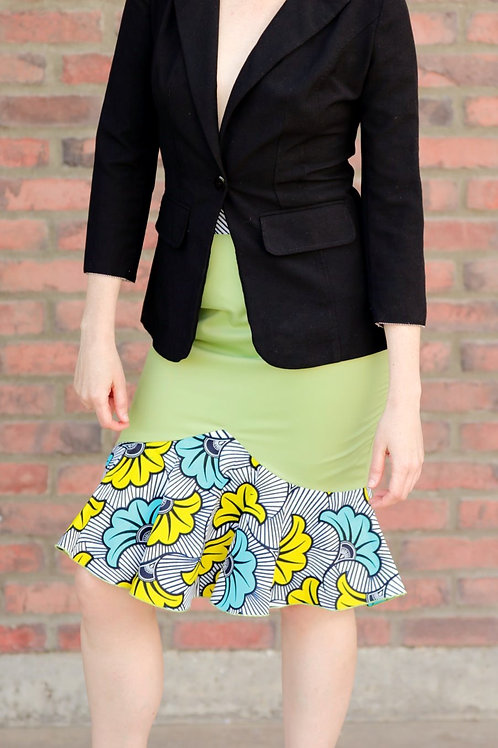 Mintell Skirt in Green