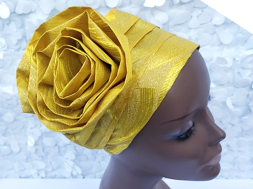 Yellow Sego Hat