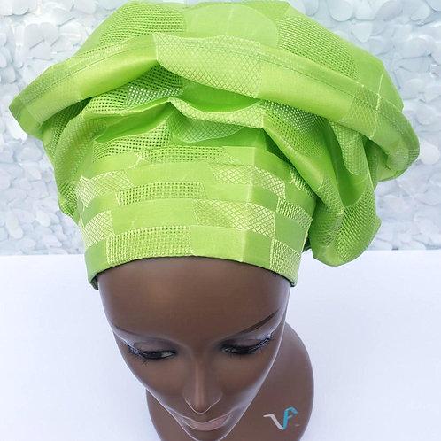 Green Gele Hat