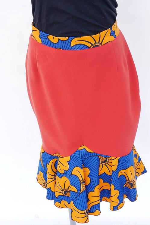 Mintell Skirt in Red