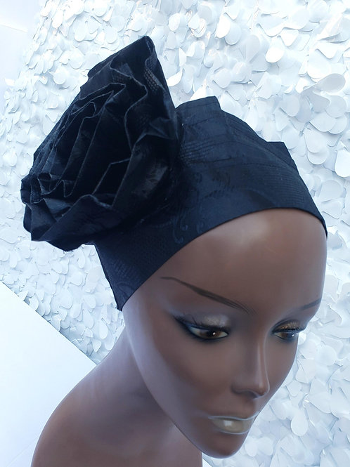 Black Sego Hat