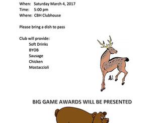 2017 Big Game Dinner