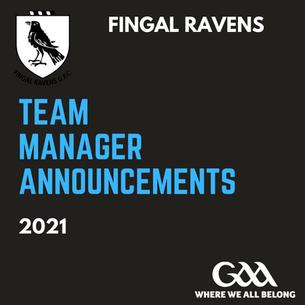 Men's 2nd & 3rd Team Management announced